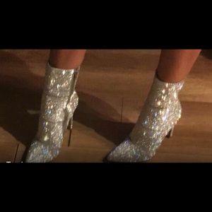 Steve Madden Shoes - New Steve Madden Rhinestone SparklingHoliday Boots